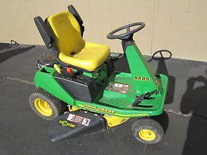 Used John Deere 345 Garden Tractor Riding Lawn Mower on ...