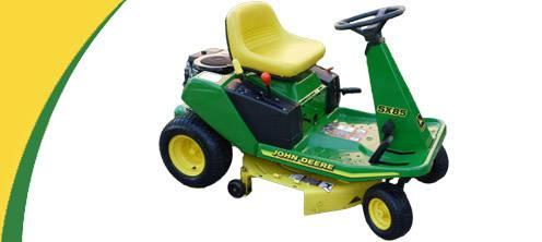 John Deere SX85 Lawn Mower Parts
