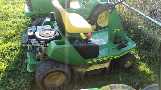1998 John Deere SX85 Riding Mower For Sale at ...