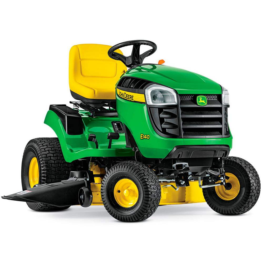 John Deere E140 48 in. 22 HP V-Twin Gas Hydrostatic Lawn ...
