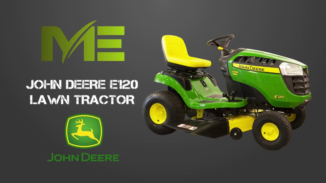 John Deere E120 - Riding Lawn Mowers from Minnesota ...