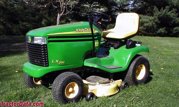 TractorData.com John Deere LX266 tractor photos information