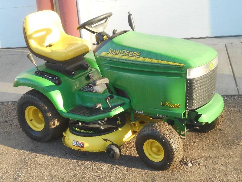 John Deere LX266 Lawn Tractor, 16HP... | LE November Lawn ...