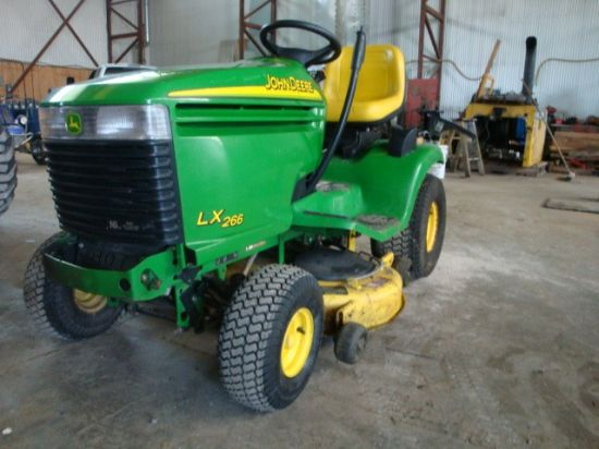 John Deere LX266 Repower