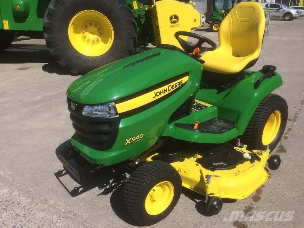 John Deere X540, Sweden, $7,903, 2015- riding mowers for ...