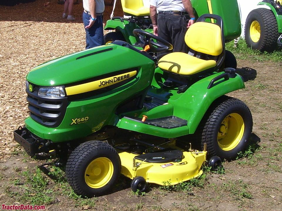 TractorData.com John Deere X540 tractor photos information