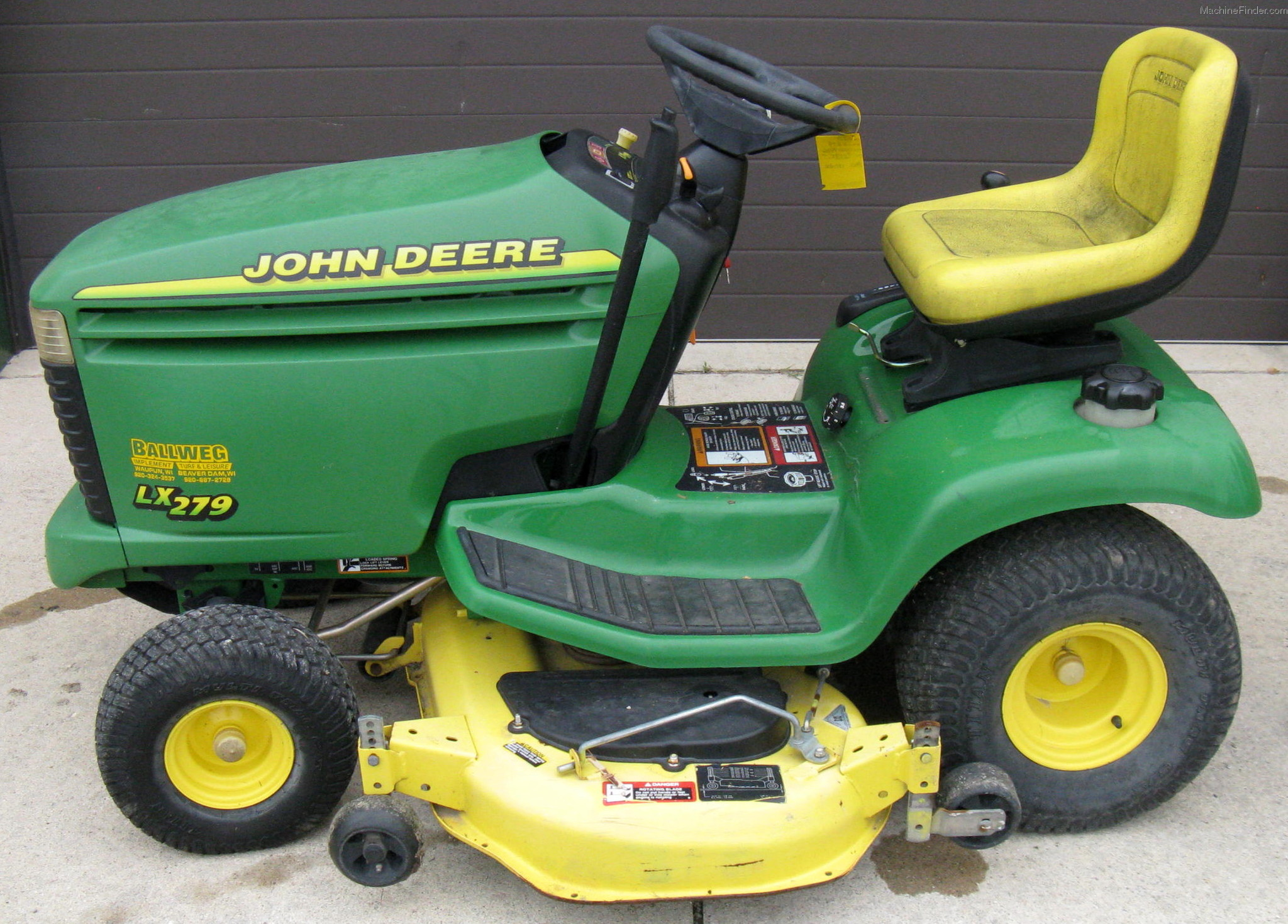2001 John Deere LX279 Lawn & Garden and Commercial Mowing ...