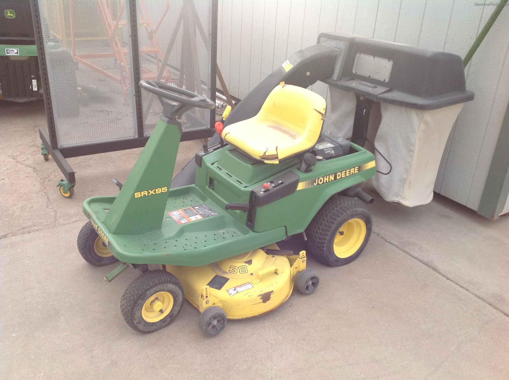 John Deere SRX95 Lawn & Garden and Commercial Mowing ...