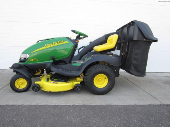 2002 John Deere SST15 Lawn & Garden and Commercial Mowing ...