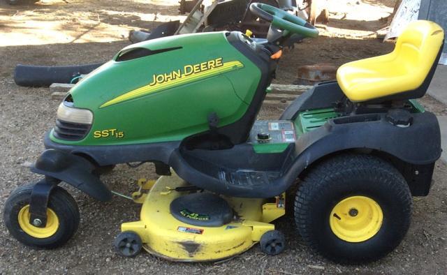 John Deere SST15 Spin Steer Riding Lawnmower - Nex-Tech ...
