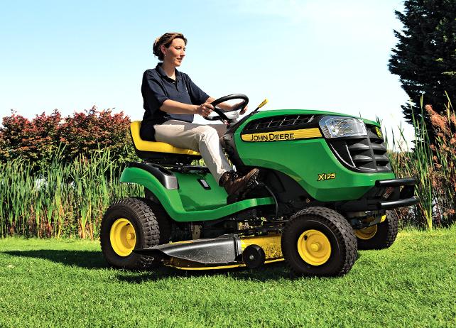 X125 | Riding Lawn Equipment | John Deere INT
