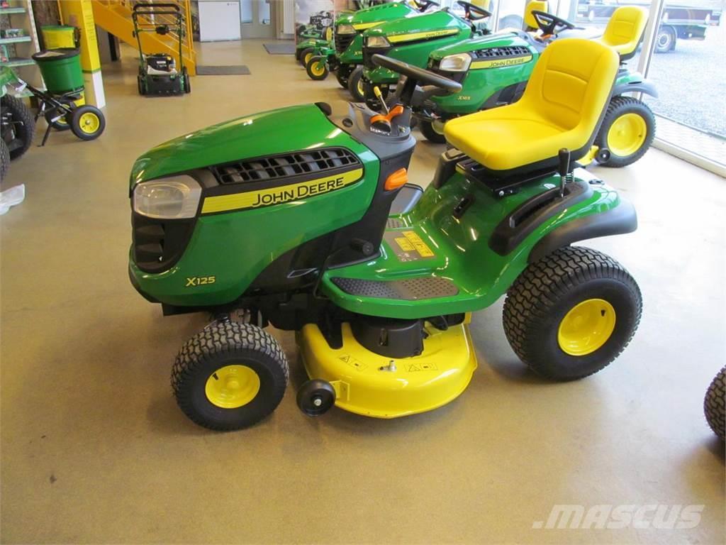 Used John Deere X125 compact tractors Year: 2017 Price: US ...