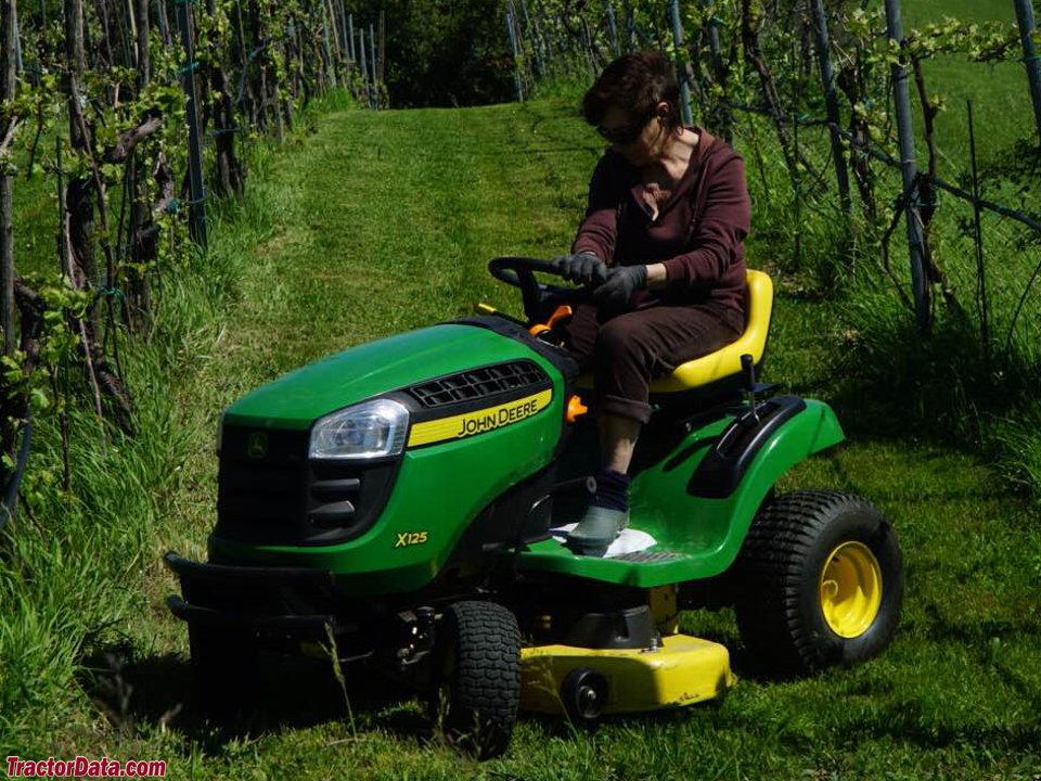 TractorData.com John Deere X125 tractor information