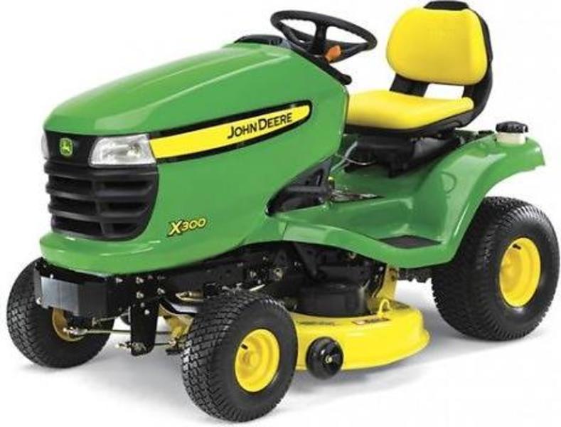 John Deere X125 Ride On Lawn Mower | Full Specifications