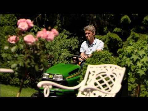 John Deere X130R - livgm.co.uk - YouTube