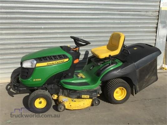 John Deere X155R Lawn Mowers - Riding farm machinery for ...
