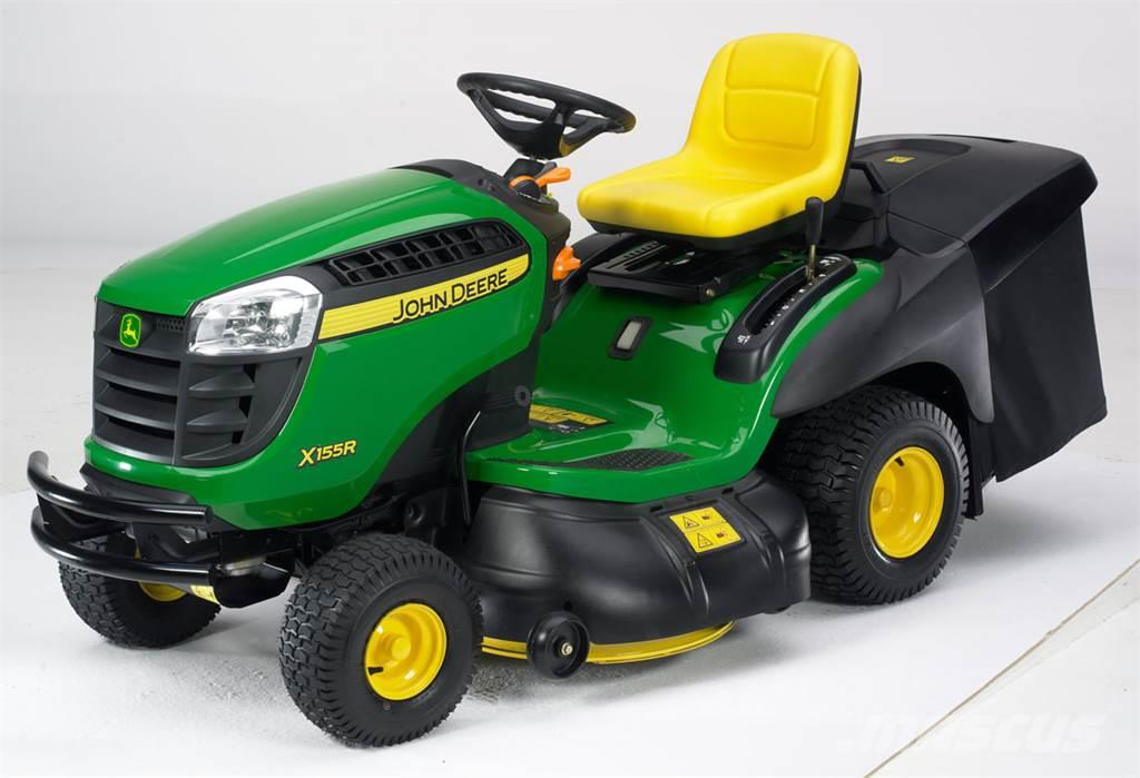 Used John Deere X155R riding mowers Year: 2014 for sale ...