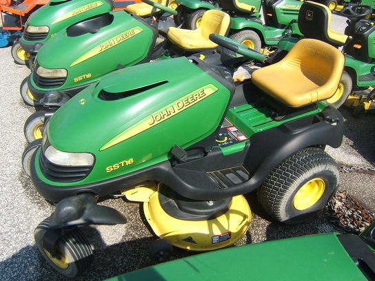 John Deere SST16 Lawn & Garden and Commercial Mowing ...