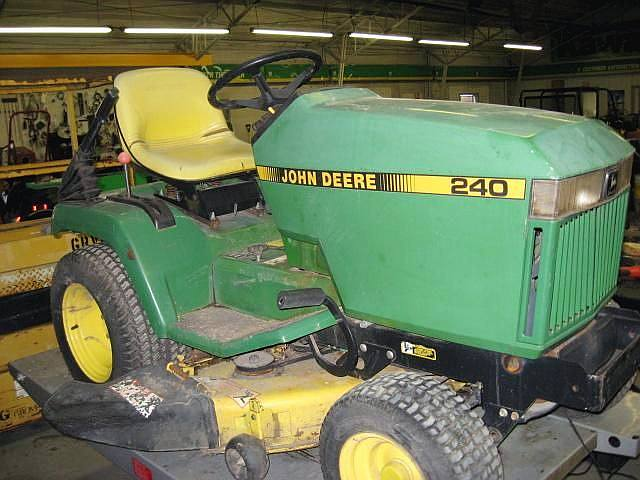 john deere gt240 - John Deere Tractor Forum - GTtalk