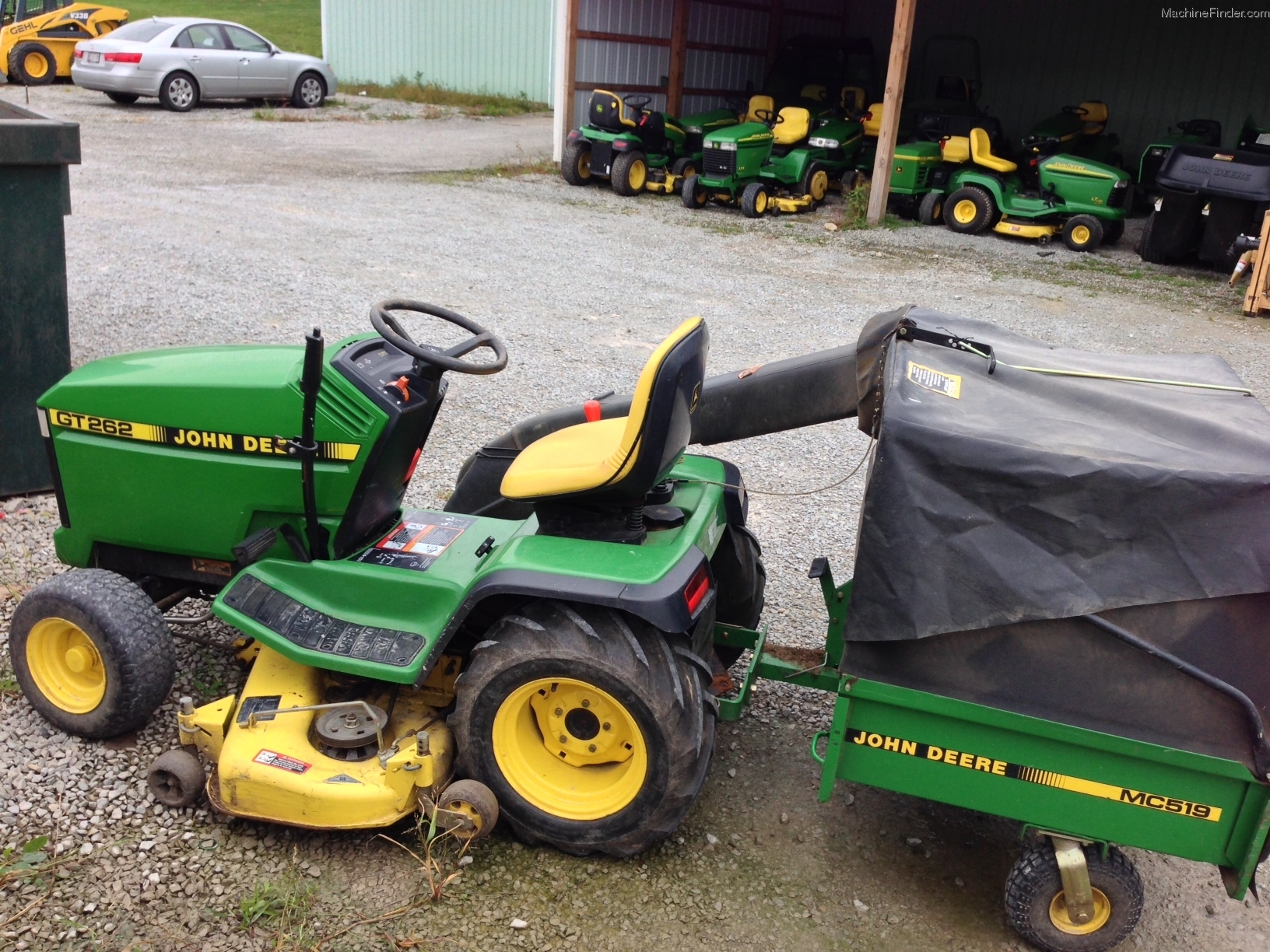 1994 John Deere GT262 Lawn & Garden and Commercial Mowing ...
