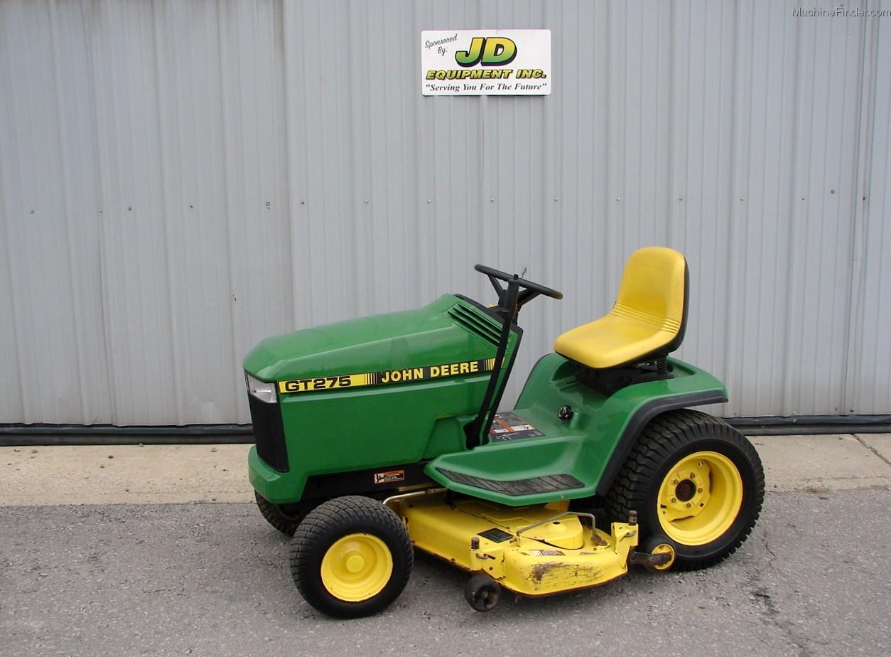 1996 John Deere GT275 Lawn & Garden and Commercial Mowing ...