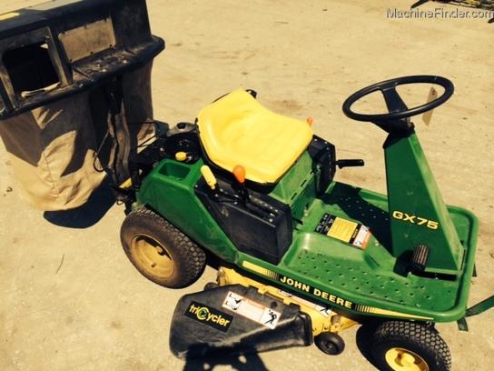 John Deere GX75 Lawn & Garden and Commercial Mowing - John ...