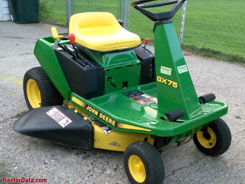TractorData.com John Deere GX75 tractor photos information
