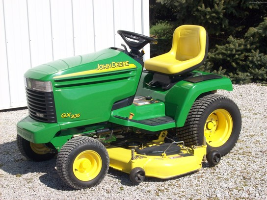 2005 John Deere GX335 Lawn & Garden and Commercial Mowing ...