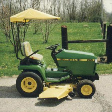 Original Tractor Cab Sunshade Fits John Deere 325, 335 ...