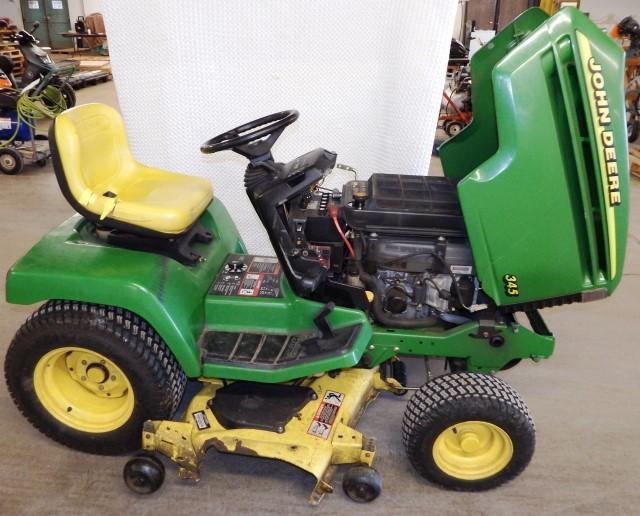 John Deere 345 Riding Lawn Tractor / Mower 20hp
