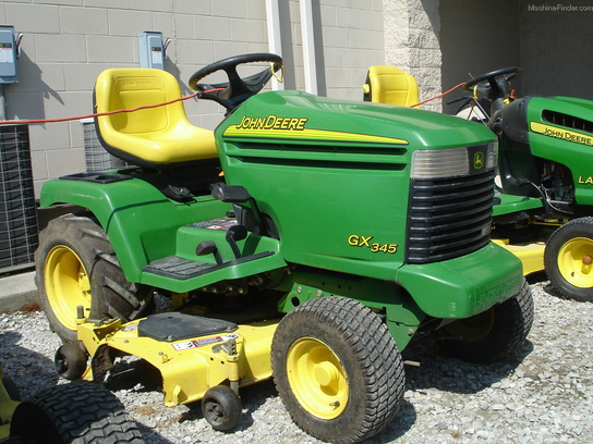 2004 John Deere GX345 Lawn & Garden and Commercial Mowing ...