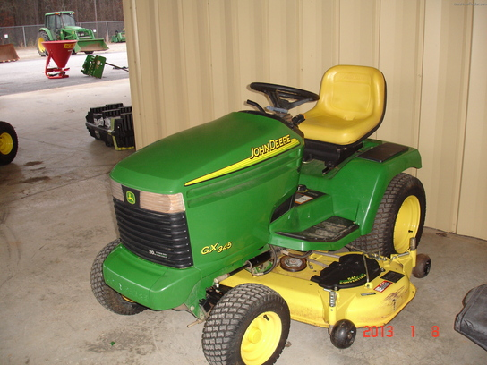 2003 John Deere GX345 Lawn & Garden and Commercial Mowing ...
