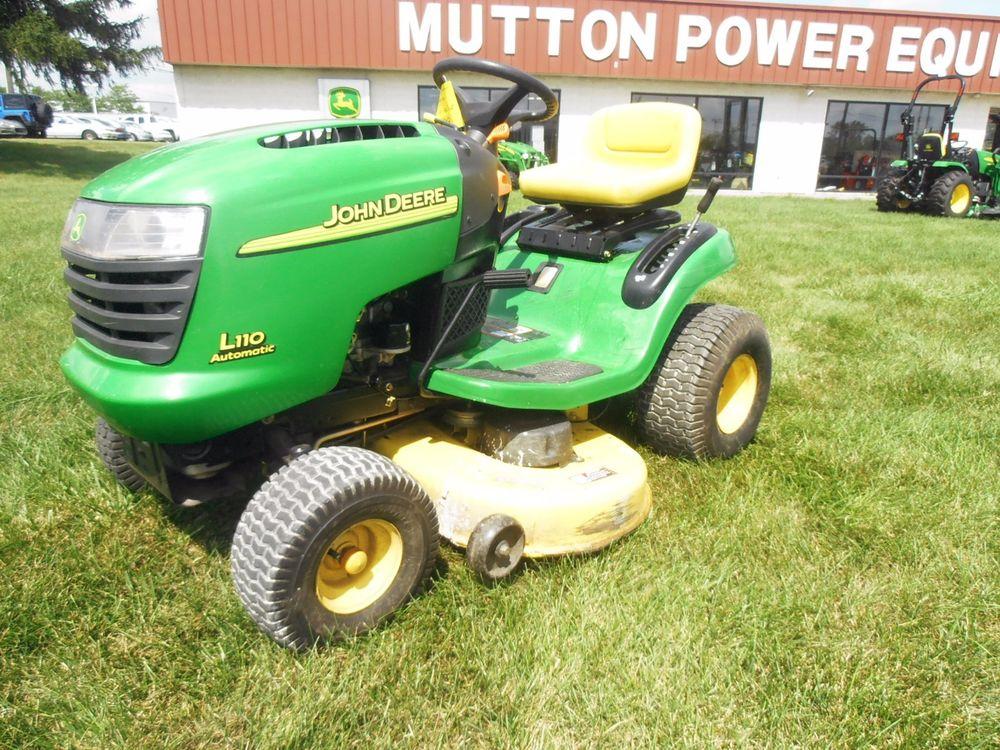 John Deere Riding Lawn Mower Seat G110 L100 L105 L107 L110 ...