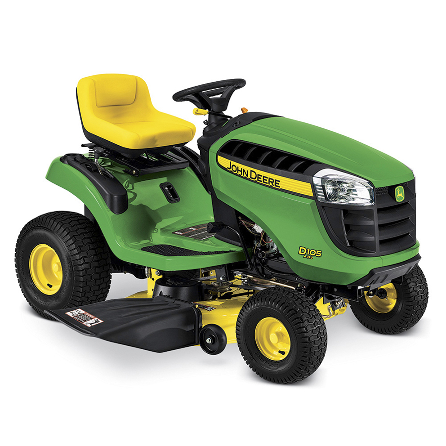 Shop John Deere D105 17.5-HP Automatic 42-in Riding Lawn ...