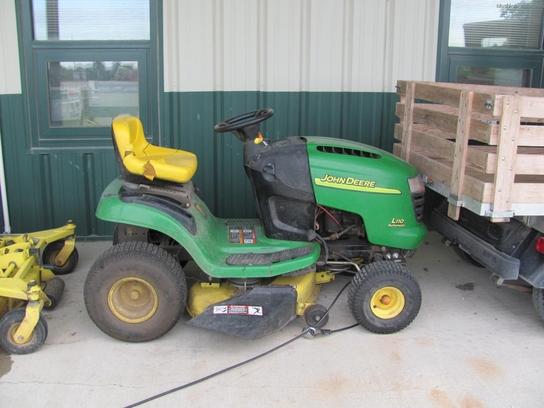 John Deere L110 Lawn & Garden and Commercial Mowing - John ...