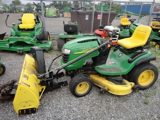 2005 John Deere L120 Lawn & Garden and Commercial Mowing ...