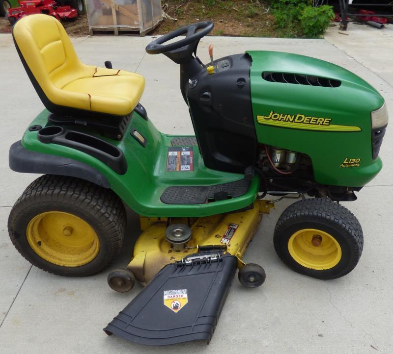 Used John Deere L130 Automatic 48 034 Lawn Tractor 23 HP ...