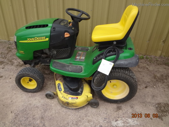 2003 John Deere L130 Lawn & Garden and Commercial Mowing ...
