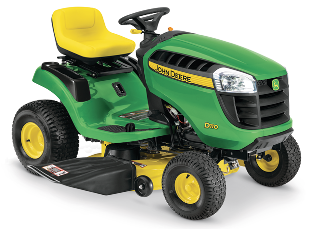 Lawn Tractors | D110 Series | 19 HP | John Deere US