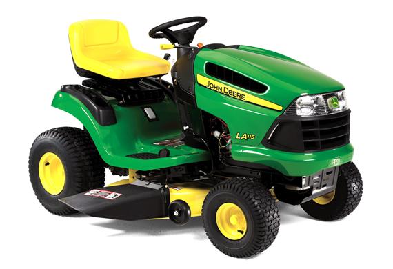 John Deere LA115 Lawn Tractor - www.Scruggsfarm.com