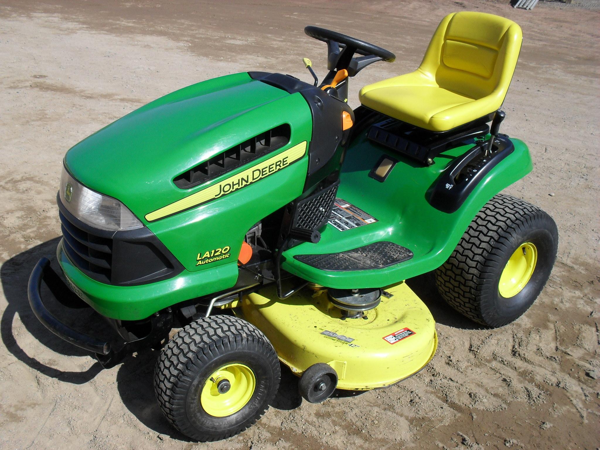 2007 John Deere LA120 Lawn & Garden and Commercial Mowing ...