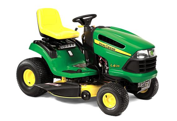 John Deere LA125 Lawn Tractor - www.Scruggsfarm.com