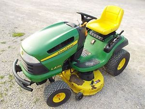 John Deere LA135 Special Automatic Riding Mower JD Tractor ...