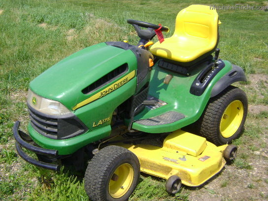 2008 John Deere LA175 Lawn & Garden and Commercial Mowing ...
