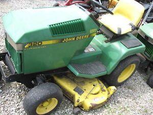 John Deere LT133 13 HP Kohler Lawn Riding Mower Tractor ...
