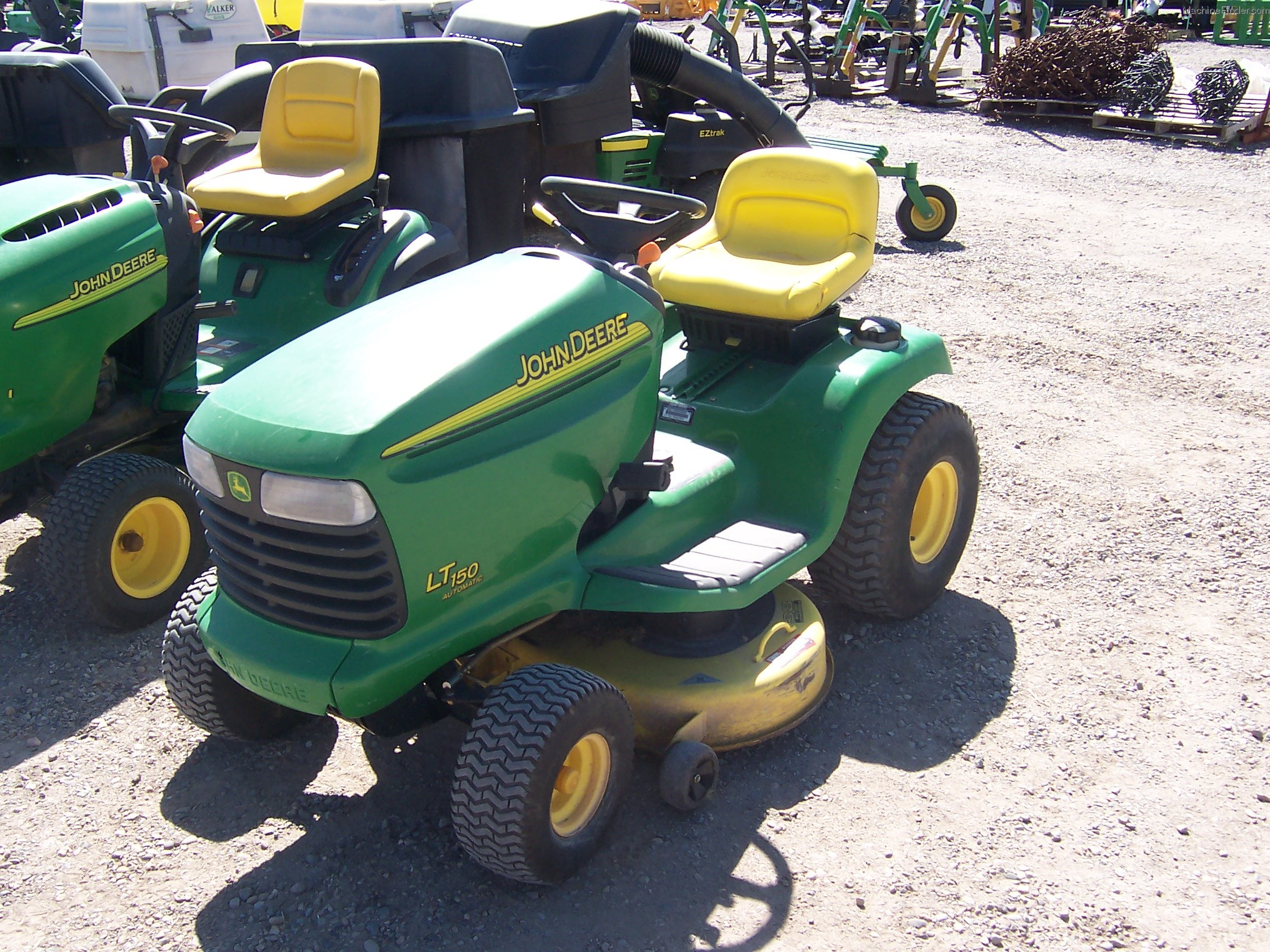 2003 John Deere LT150 Lawn & Garden and Commercial Mowing ...
