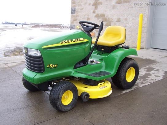 1998 John Deere LT155 lawn tractor, 38 cut, 15hp ...