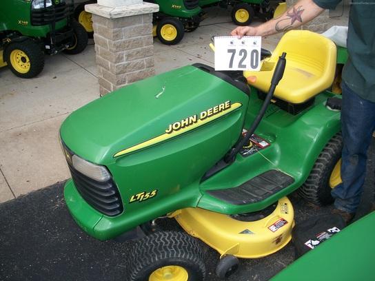 2000 John Deere LT155 - Lawn & Garden Tractors - John ...