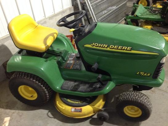 1998 John Deere LT155 Lawn & Garden and Commercial Mowing ...