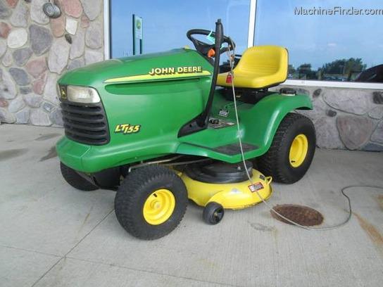 2001 John Deere LT155 Lawn & Garden and Commercial Mowing ...
